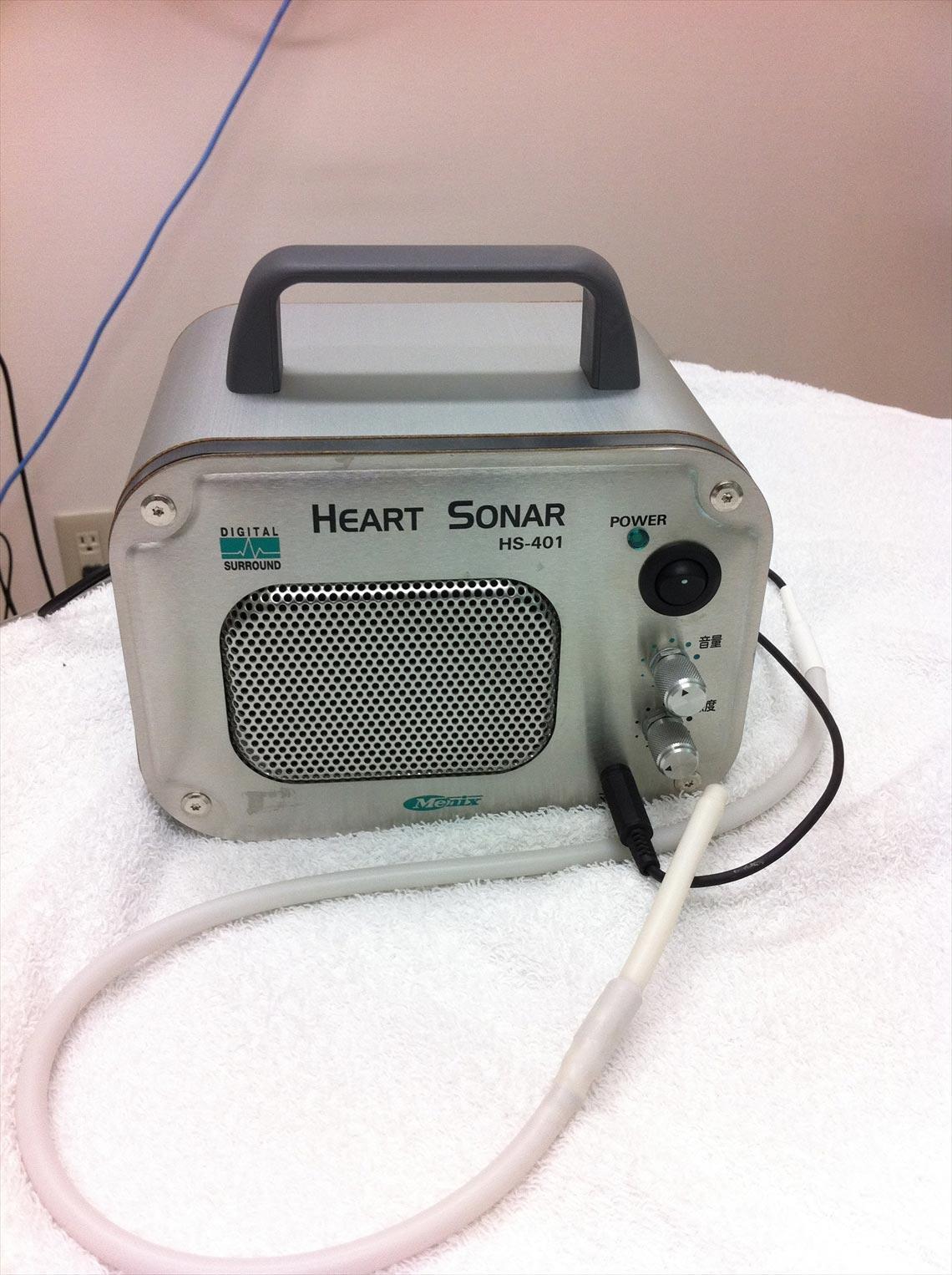 ハートソナー(食道聴診器)