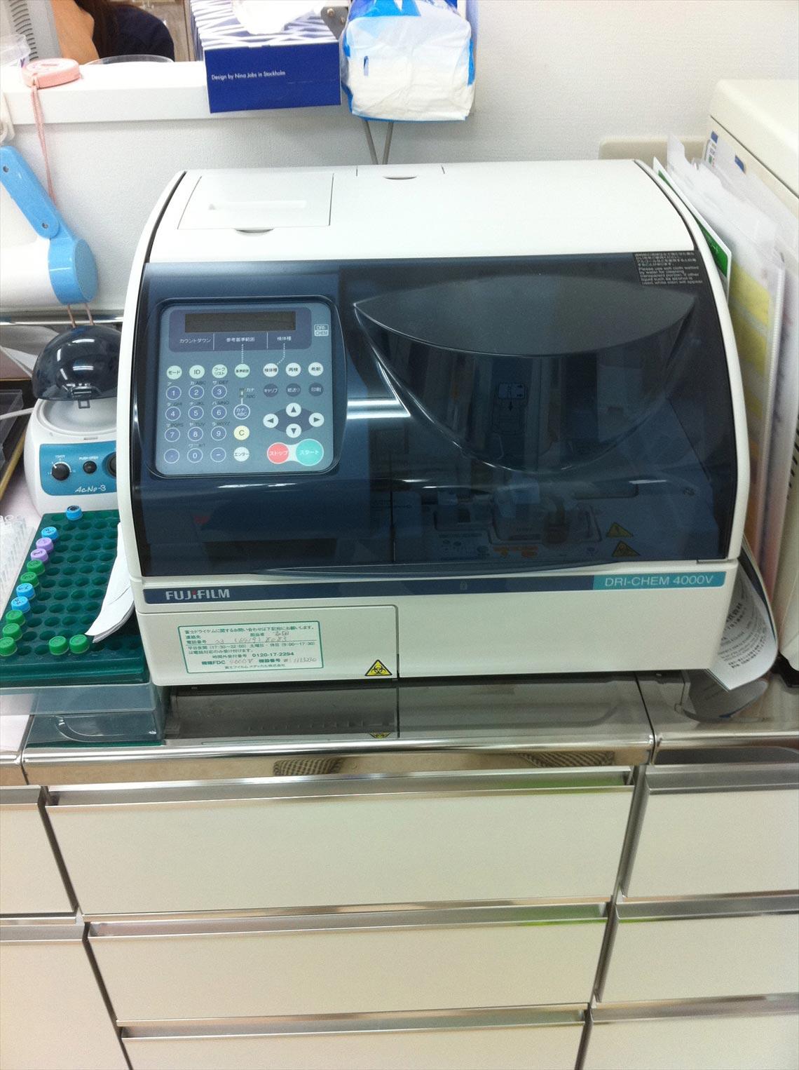 ドライケム(血液化学検査機器)